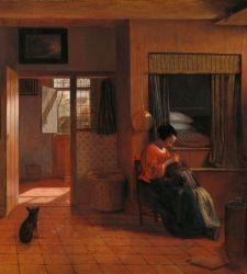 Entrare nelle case dell'Olanda del Seicento con le opere di Pieter de Hooch