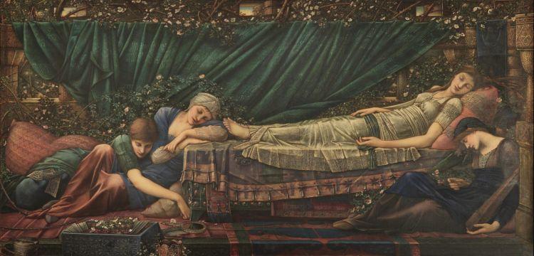 La Bella Addormentata di Edward Burne-Jones, tra suggestioni dal Rinascimento italiano e letture fiabesche