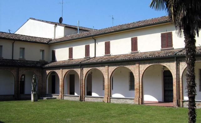 Il convento delle Cappuccine di Bagnacavallo, oggi sede del Museo Civico delle Cappuccine