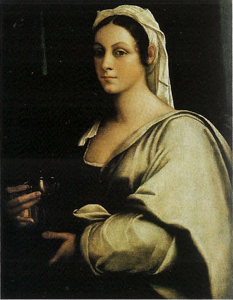 Sebastiano del Piombo, Ritratto di Vittoria Colonna (post 1525)