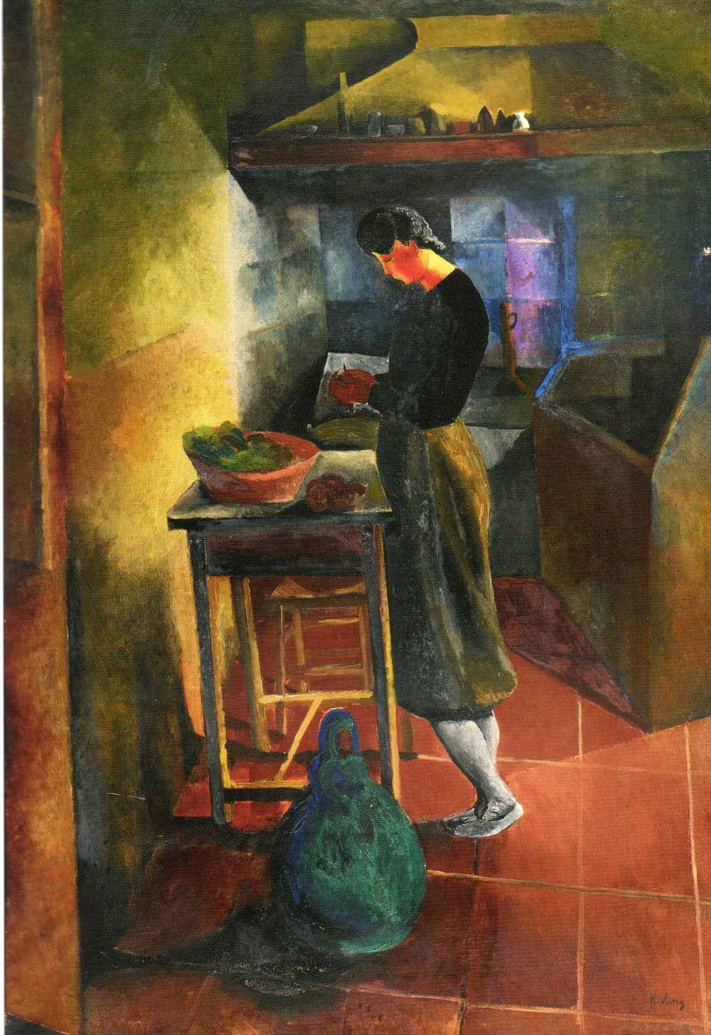Moïse Kisling, La jeune cuisinière (1910; olio su tela, 130 x 89 cm; Collezione Netter)