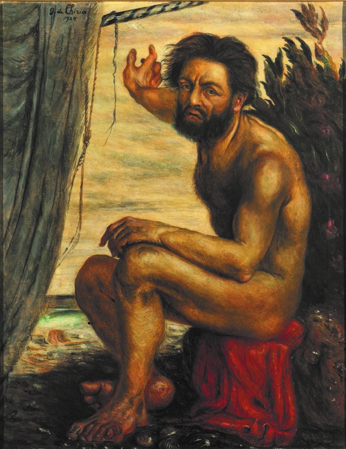 Giorgio De Chirico, Ulisse. Autoritratto come Odisseo (1922-24; olio su tela; Collezione privata)