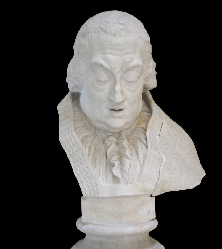 Antonio Canova, Busto di Clemente XIII (post 1792; gesso, 131 x 91 x 80 cm; Carrara, Accademia di Belle Arti, inv. Ant. 83)
