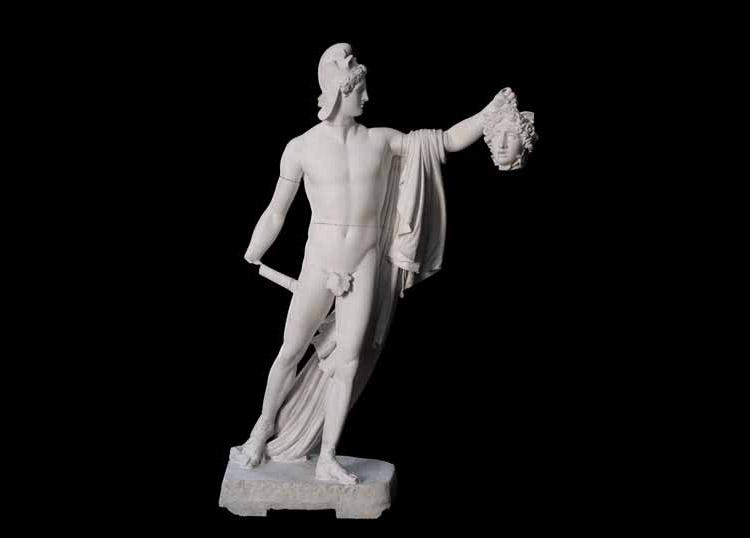 Antonio Canova, Perseo trionfante (1806; gesso, 230 × 130 × 90 cm; Padova, palazzo Papafava, collezione privata)
