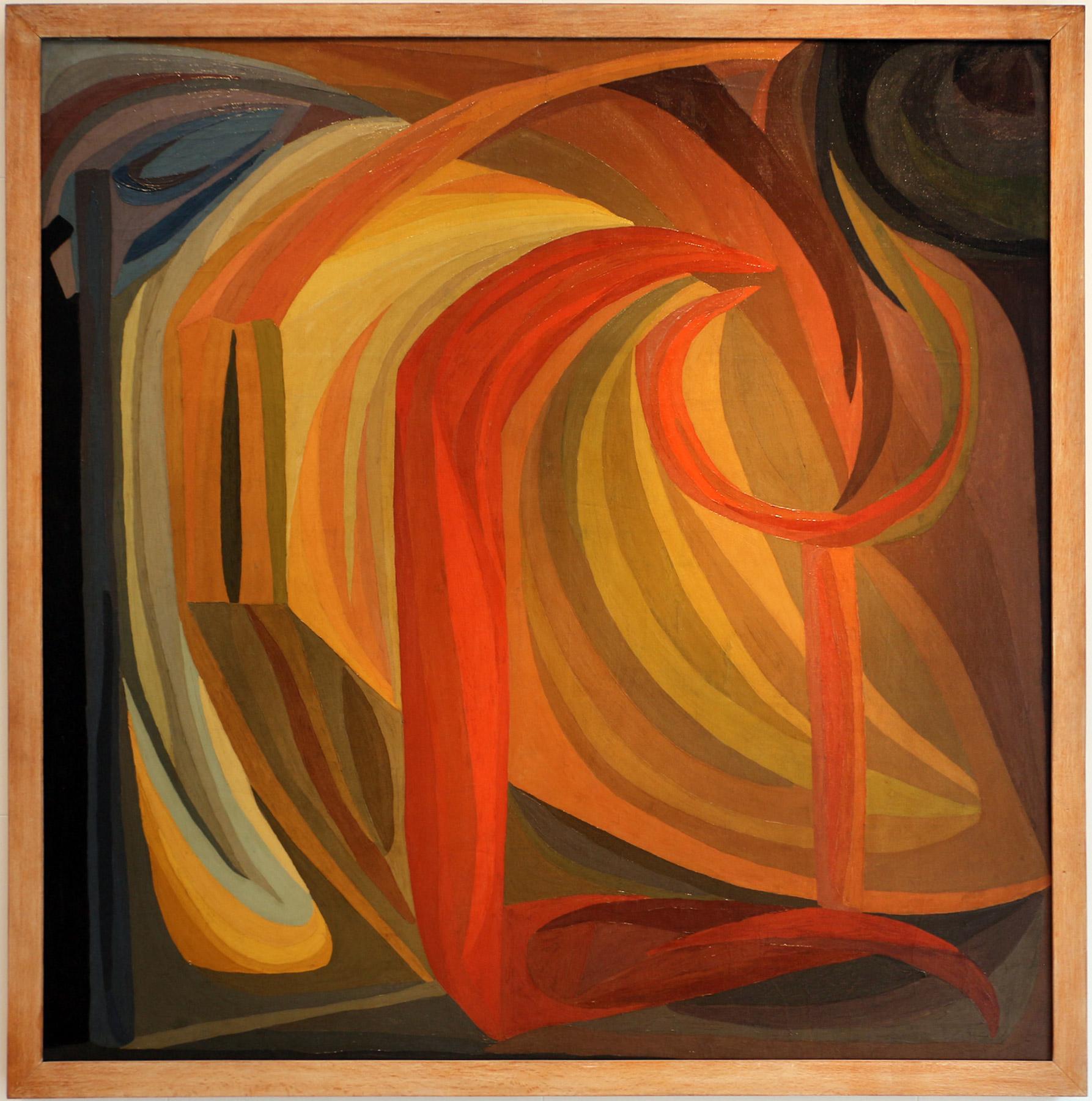 Otto Freundlich, Composizione (1911; olio su tela, 200 x 200 cm; Parigi, Musée d'Art Moderne de la Ville)