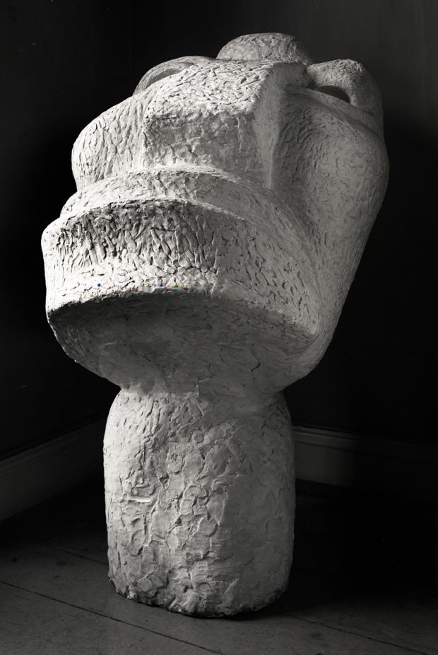 Otto Freundlich, Der neue Mensch (1912; gesso; già ad Amburgo, Museum für Kunst und Gewerbe; oggi dispersa, probabilmente distrutta durante il regime nazista)