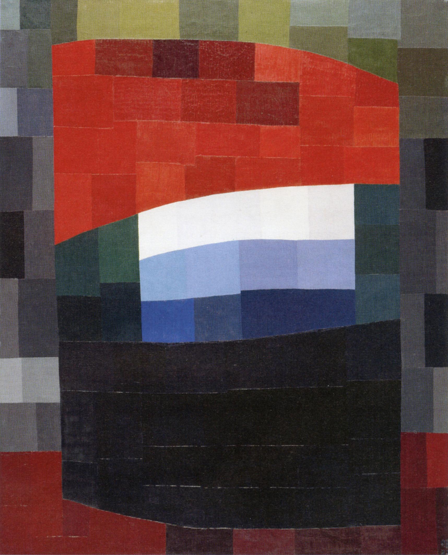 Otto Freundlich, Mein Himmel ist rot (1933; olio su tela, 162 x 130,5 cm; Parigi, Musée d'Art Moderne, Centre Georges Pompidou)