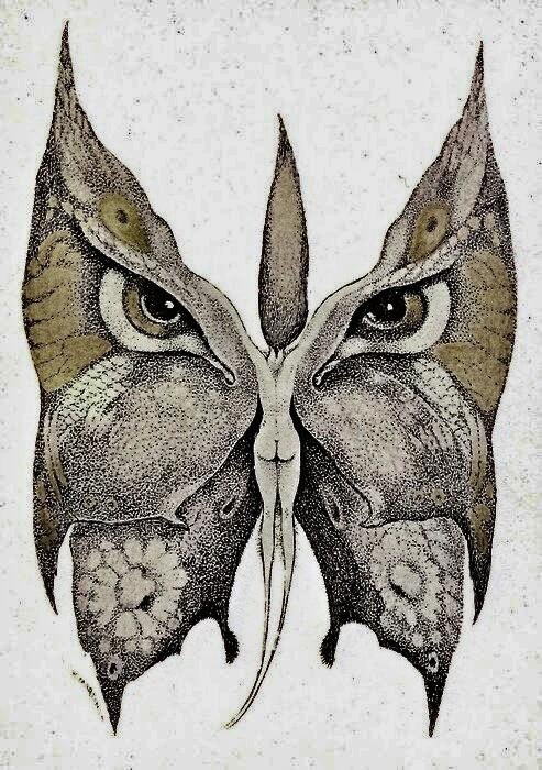 Alberto Martini Felina (1915; litografia in bianco e nero, acquerellata a mano, 13,5 x 10,7 cm; Oderzo, Pinacoteca Alberto Martini, Fondazione Oderzo Cultura onlus)