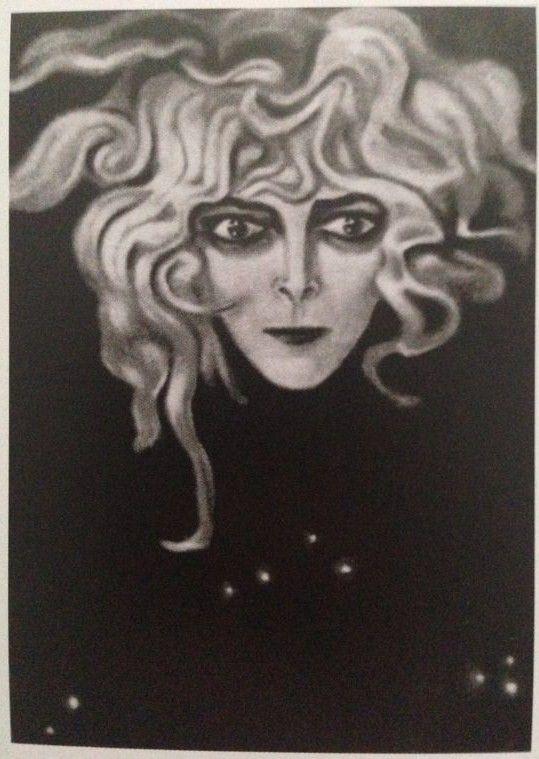 Alberto Martini, Medusa (1925, fotografia del pastello originale disperso)