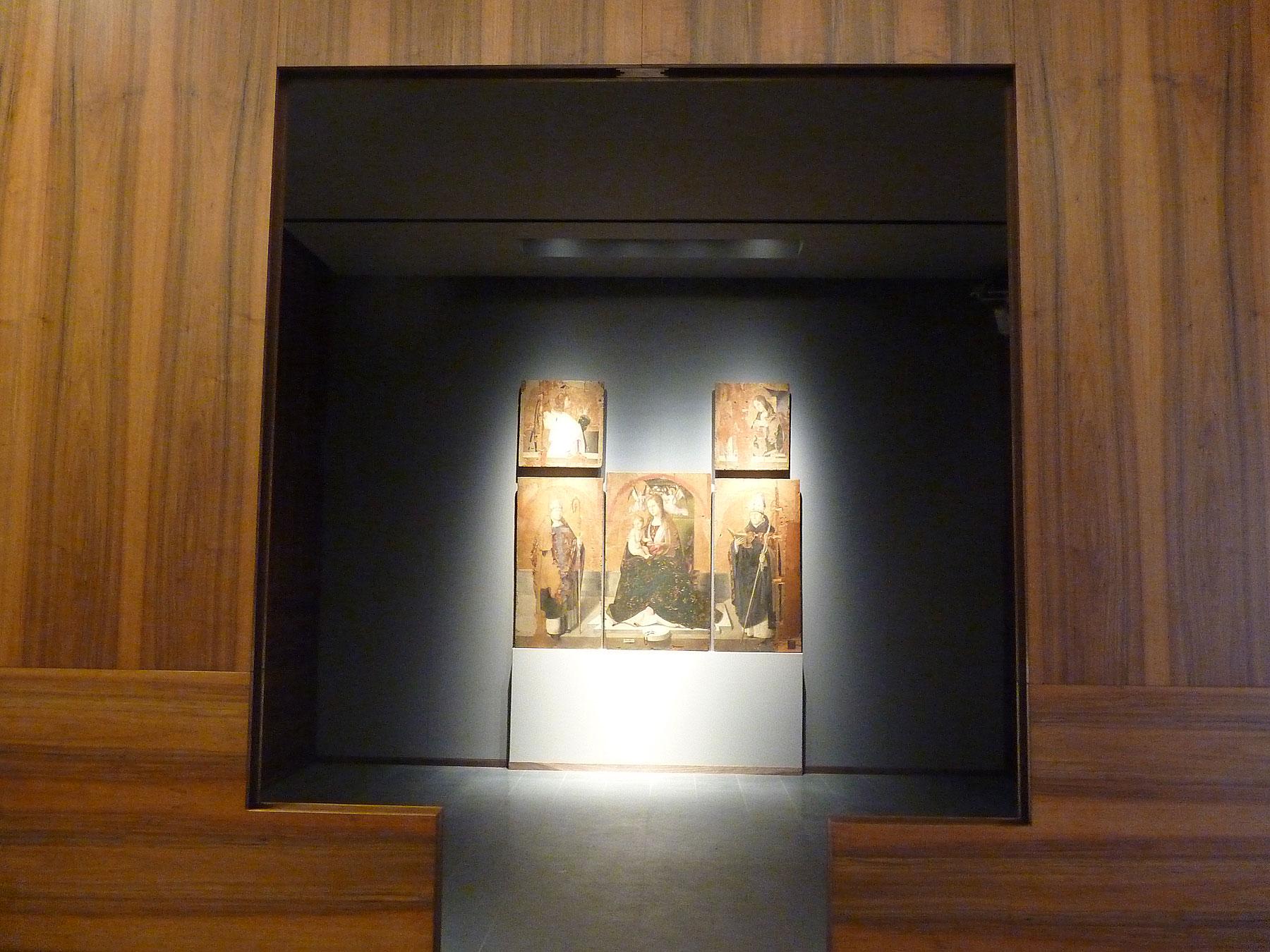 La Madonna del Rosario di Antonello da Messina