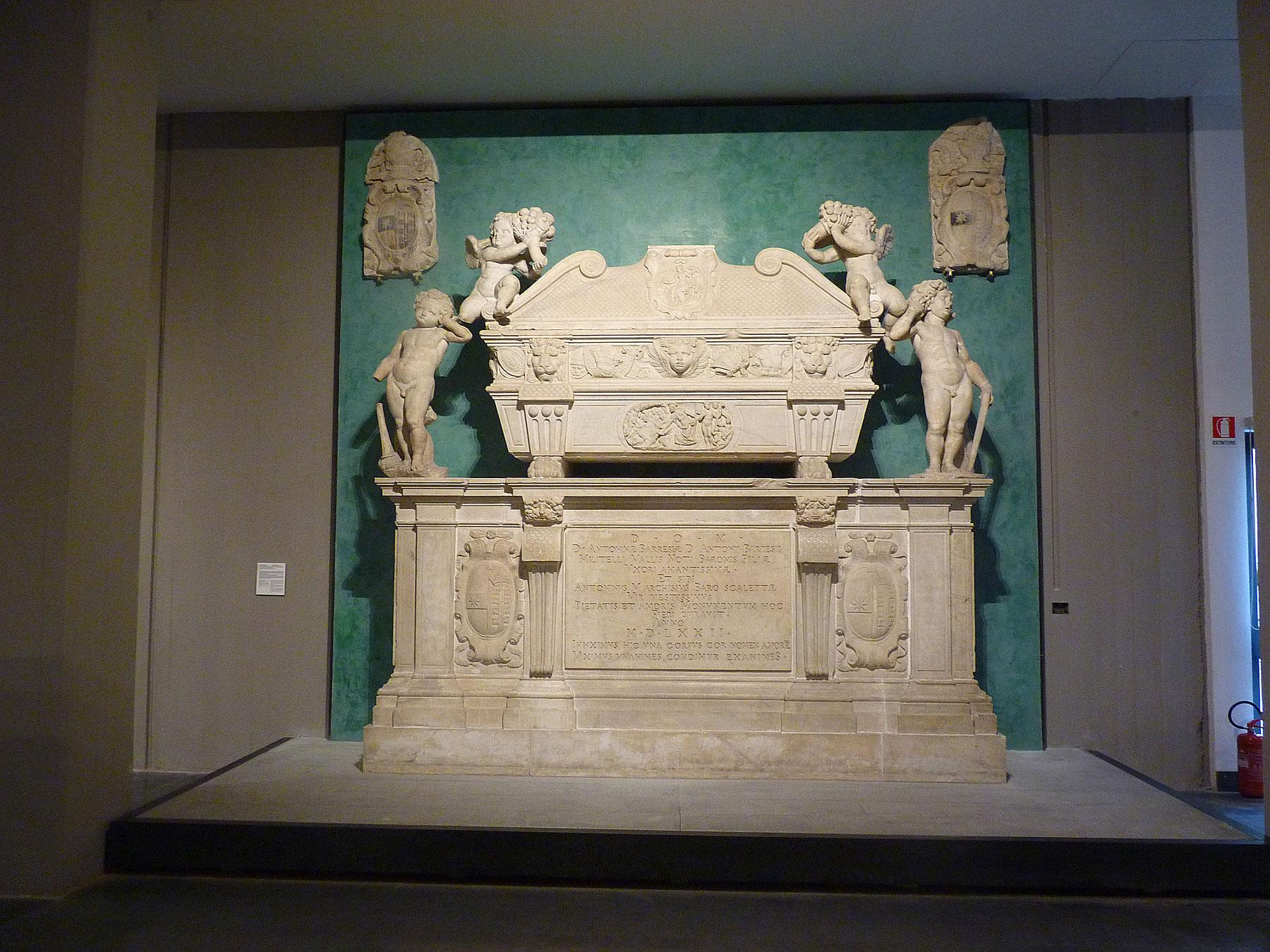 Rinaldo Bonanno, il monumento funebre Marchesi-Barresi