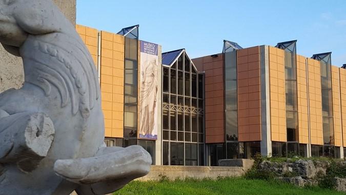 Gli esterni del MuME di Messina