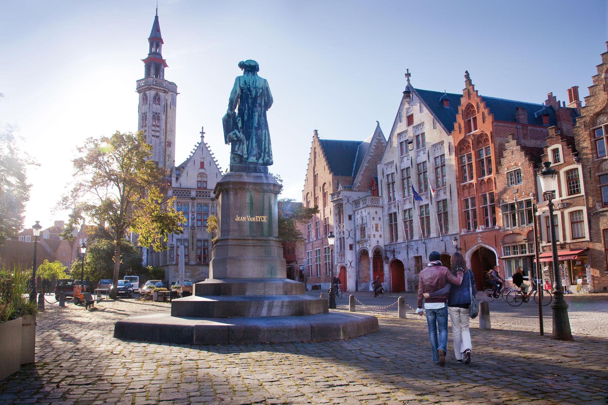 Bruges, Jan van Eyckplein