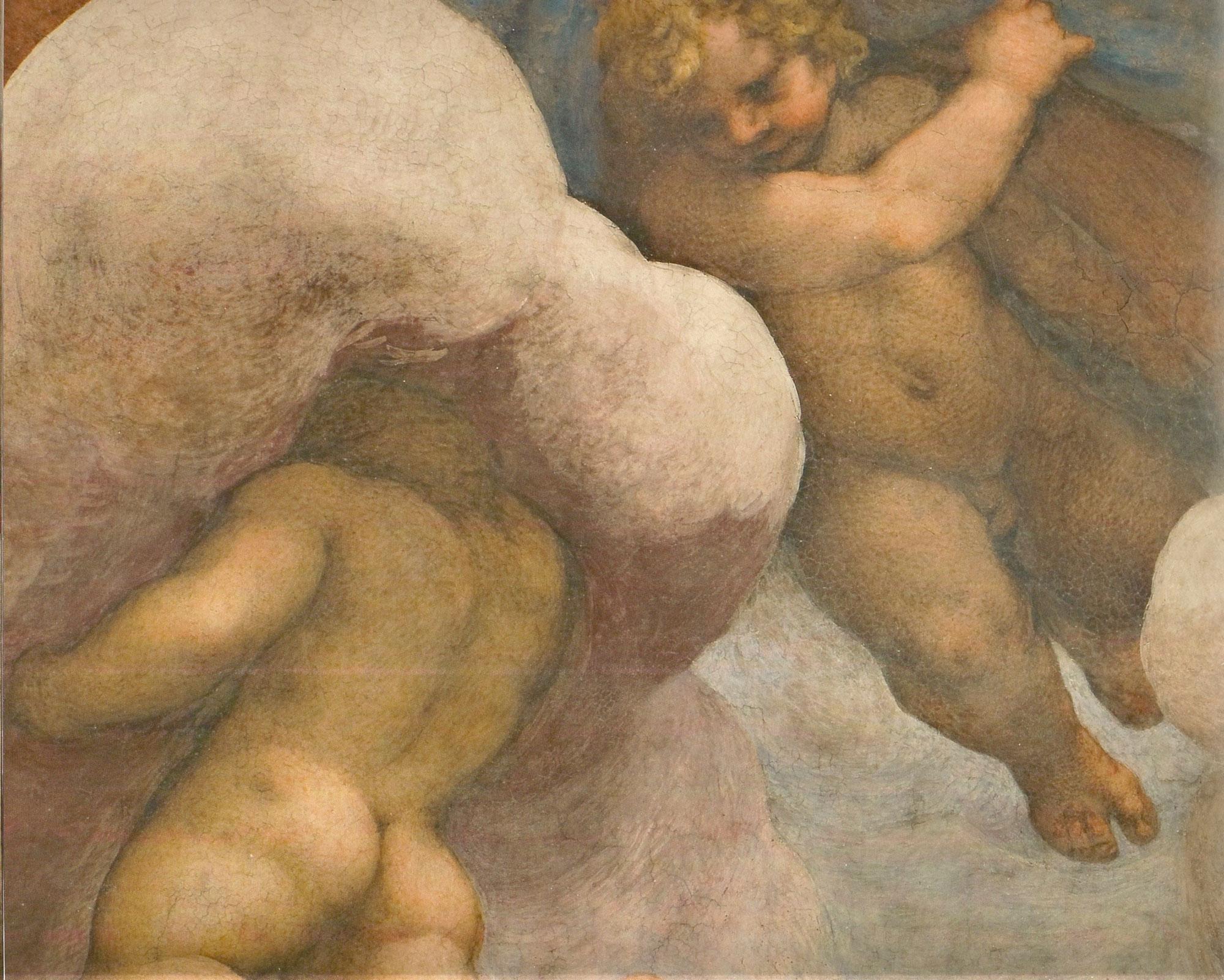 Il gioco dei putti angelici nella Cupola di San Giovanni