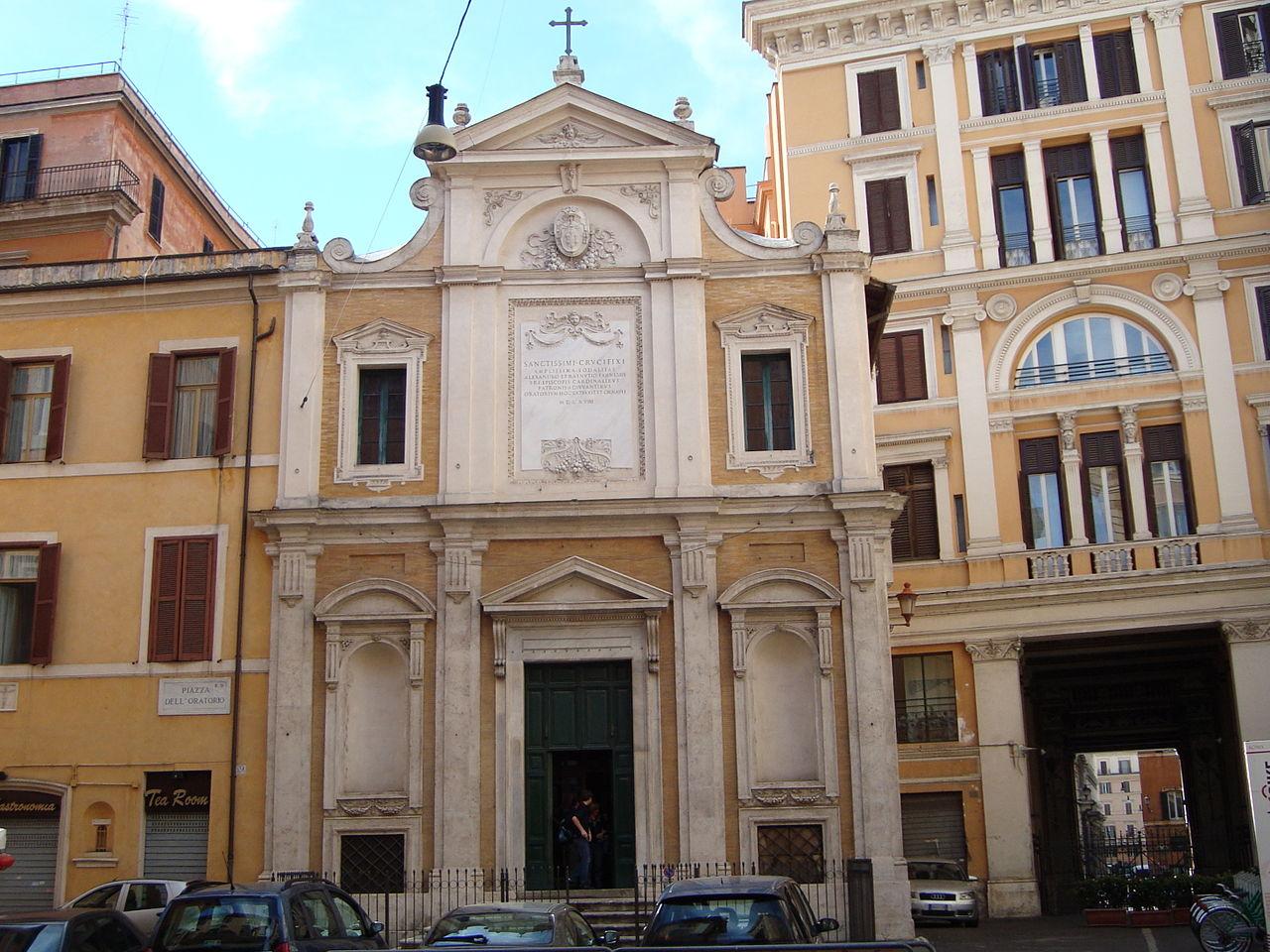 L'oratorio del Santissimo Crocifisso