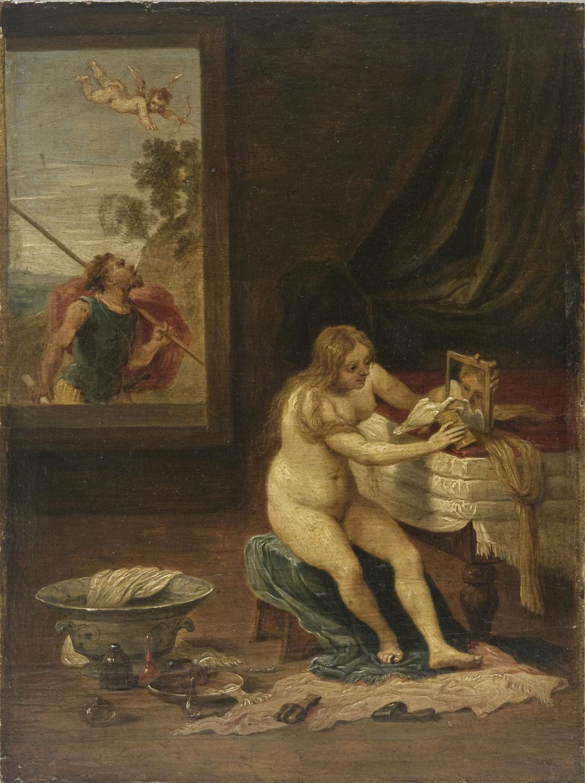 4. David Teniers il giovane, da Lorenzo Lotto, Allegoria della lussuria, Philadelphia Museum of Art, Johnson Collection