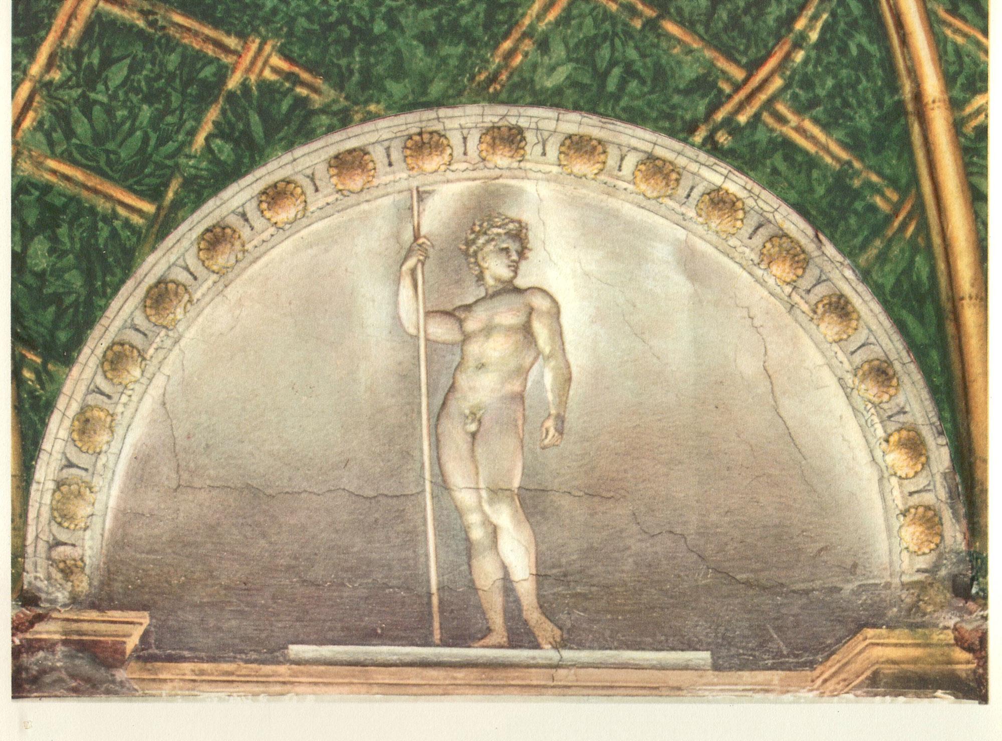 L'Eroe del Correggio nella Camera di San Paolo a Parma (1518)