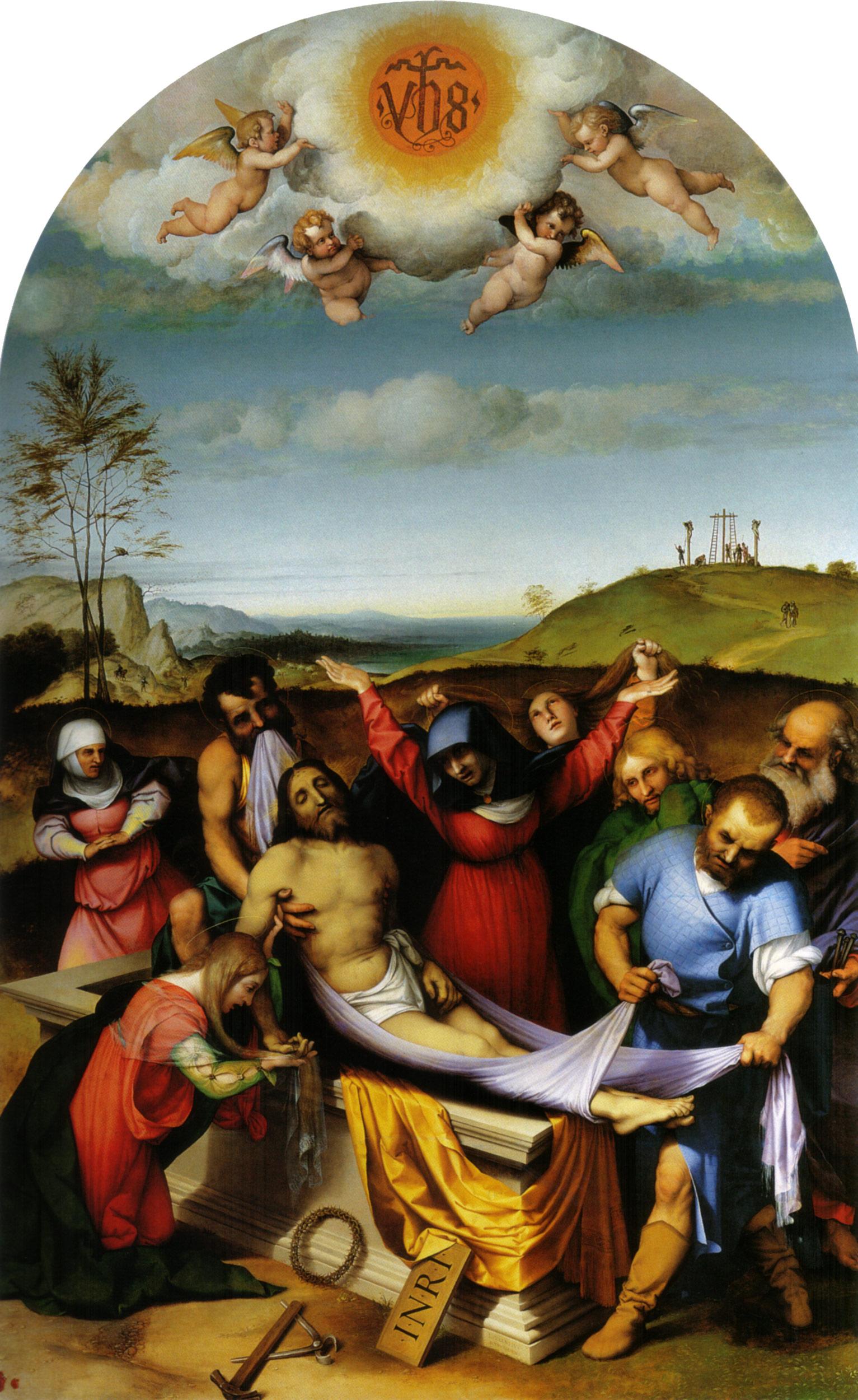 Lorenzo Lotto, Deposizione (1512; olio su tavola, 298 x 198 cm; Jesi, Pinacoteca Comunale, Palazzo Pianetti)