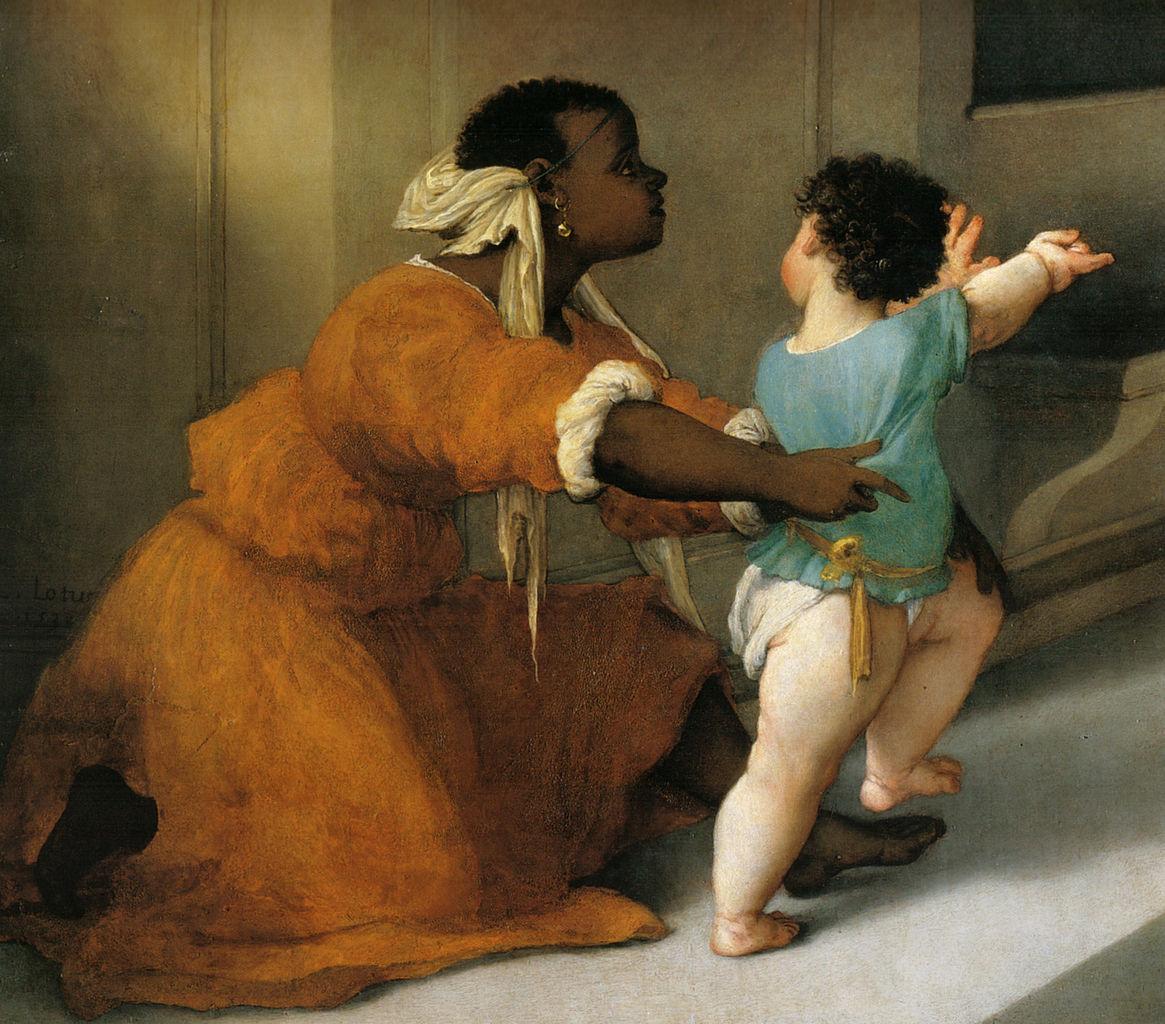 Lorenzo Lotto, Pala di Santa Lucia, dettaglio