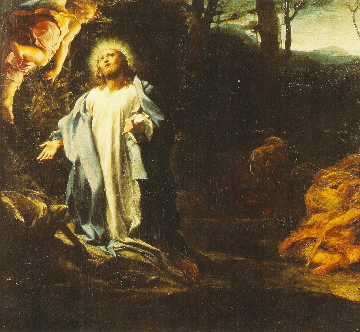 Correggio, L'Orazione di Gesù nell'orto (olio su tavola, 37 x 40 cm; Londra, Hapsley House)
