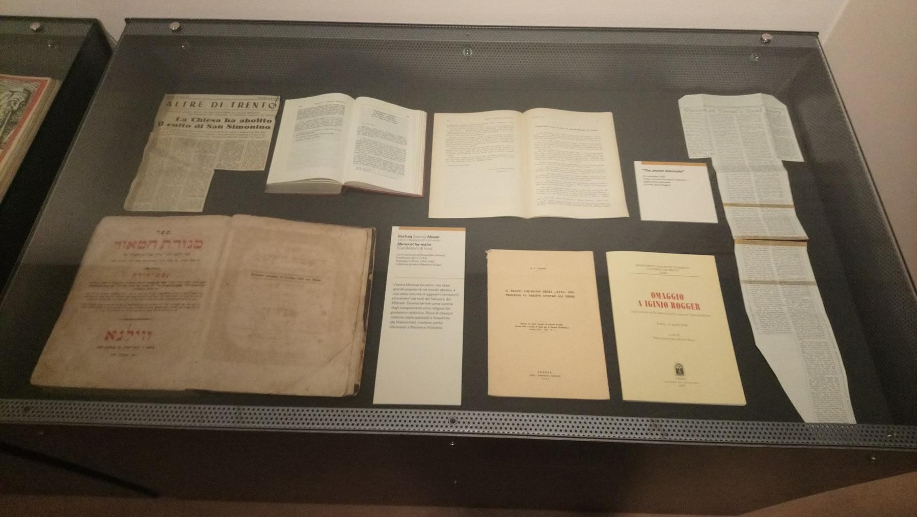 Gli articoli degli anni Sessanta che seguirono l'abolizione del culto di Simonino da Trento