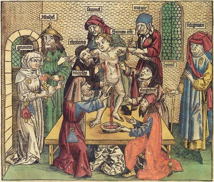 Hartmann Schedel, Liber Chronicarum (Norimberga, Anton Kberger, 23 dicembre 1493; Trento, Biblioteca Comunale, G 1 a 21)
