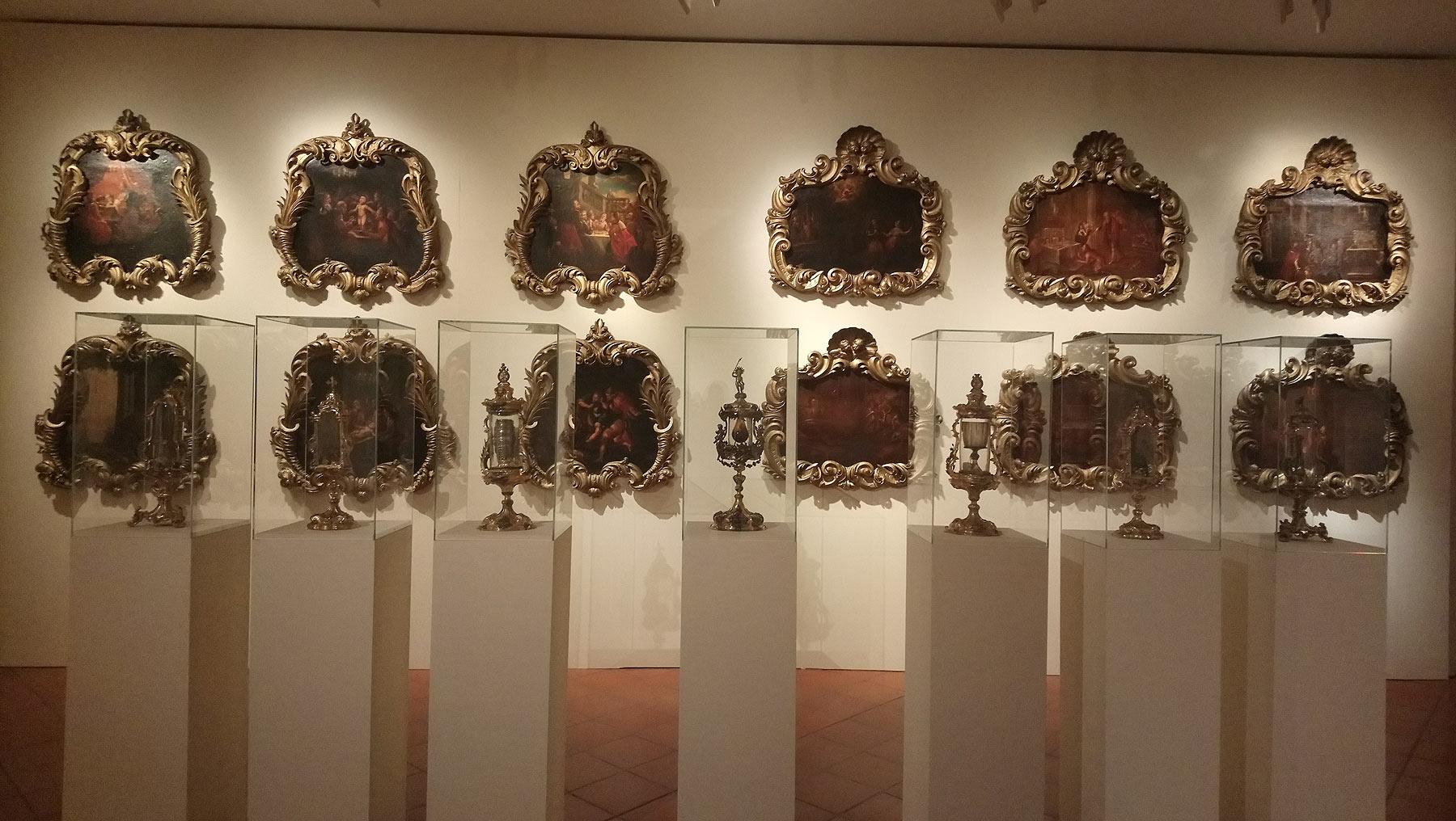 Le tele processionali con le storie e i miracoli di Simonino da Trento