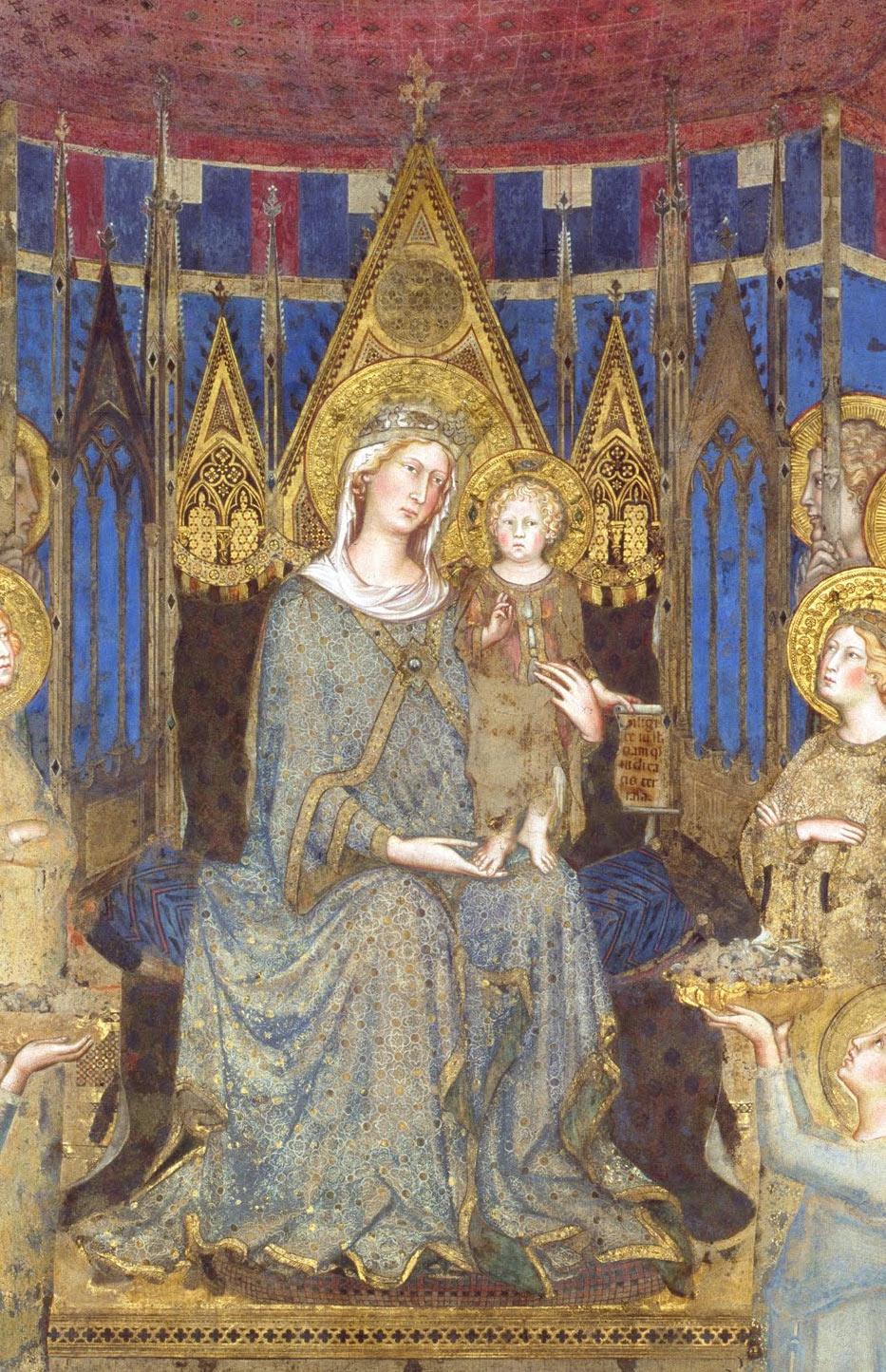 La Vergine con il Bambino