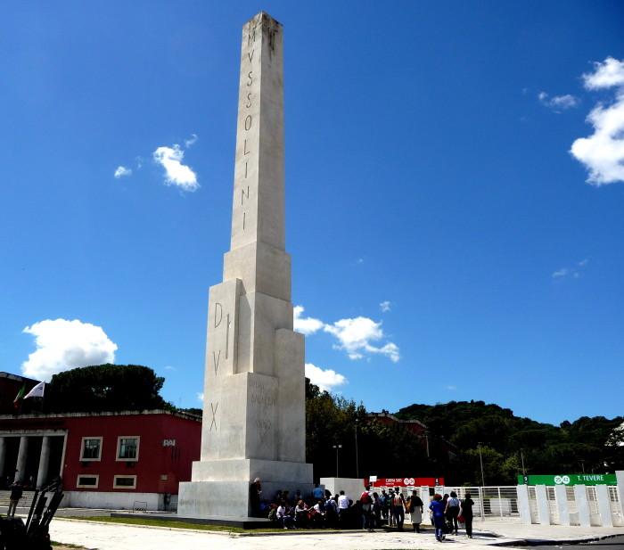 L'obelisco del Foro Italico
