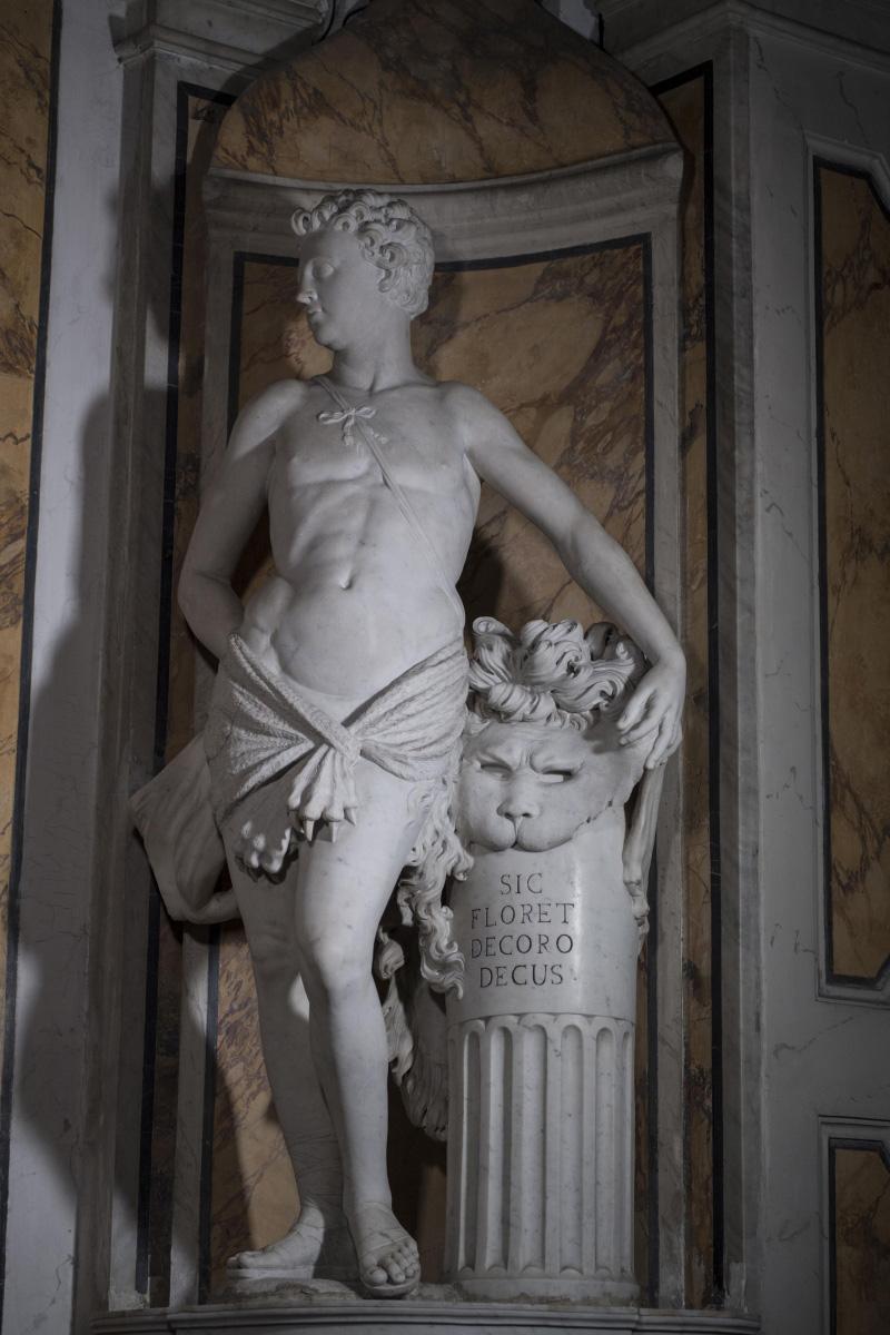 Antonio Corradini, Decoro (1751-1752; marmo; Napoli, Cappella Sansevero). Ph. Credit Museo Cappella Sansevero