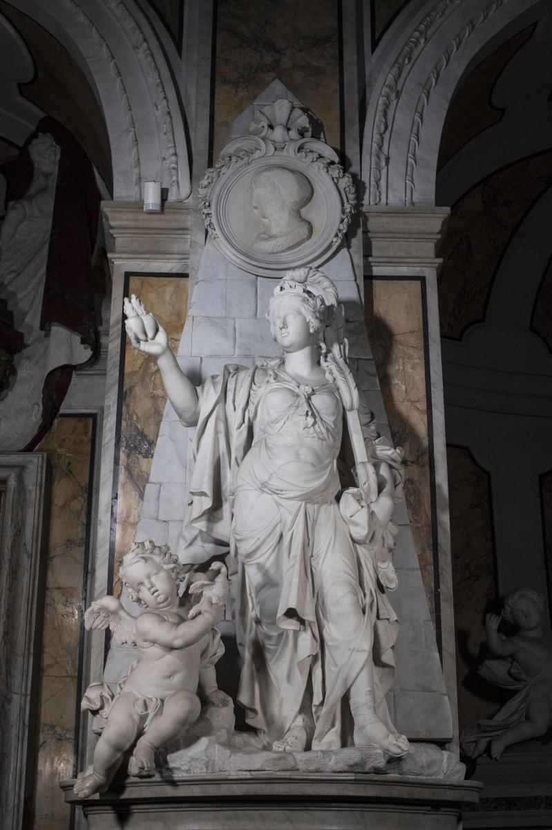 Paolo Persico, Soavità del giogo coniugale (1768; marmo; Napoli, Cappella Sansevero). Ph. Credit Museo Cappella Sansevero