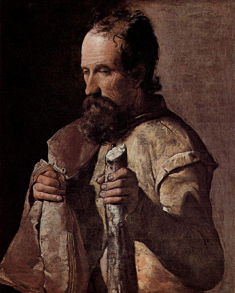 Georges de La Tour, San Giacomo minore (1625 circa; olio su tela, 66 x 54 cm; Albi, Musée Toulouse-Lautrec)