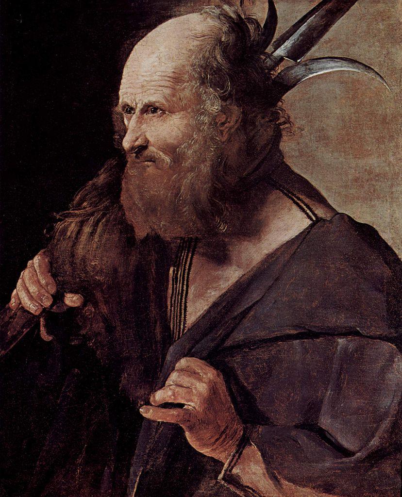 Georges de La Tour, San Giuda Taddeo (1625 circa; olio su tela, 62 x 51 cm; Albi, Musée Toulouse-Lautrec)