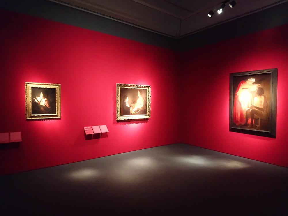Sala della mostra La Tour. L'Europa della luce