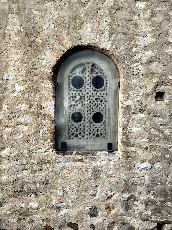 Una delle finestre originali