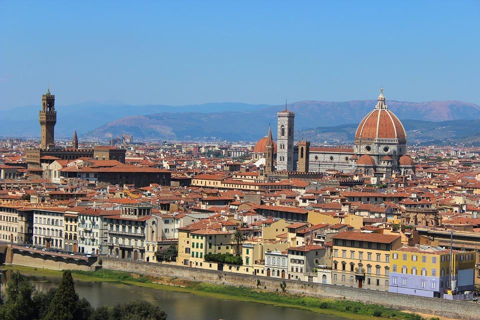 La Cupola di Brunelleschi nel panorama di Firenze