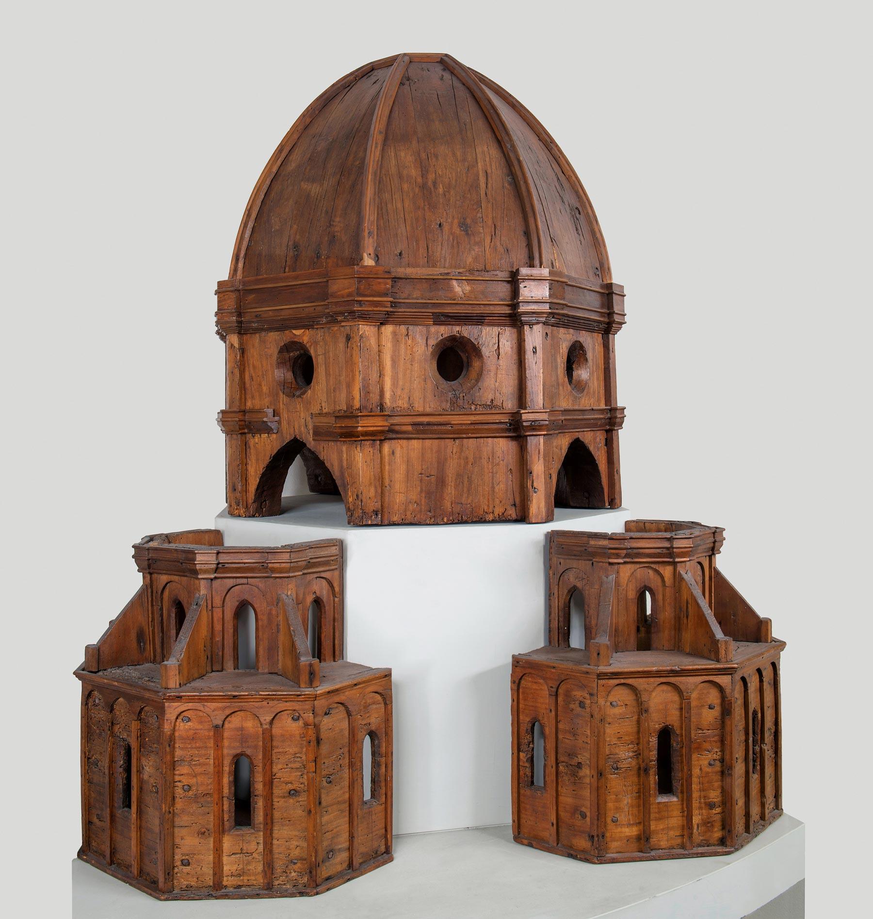 Filippo Brunelleschi (attribuito), Modello ligneo della Cupola (1420-1440 circa; legno; Firenze, Museo del Duomo). Ph. Credit Antonio Quattrone