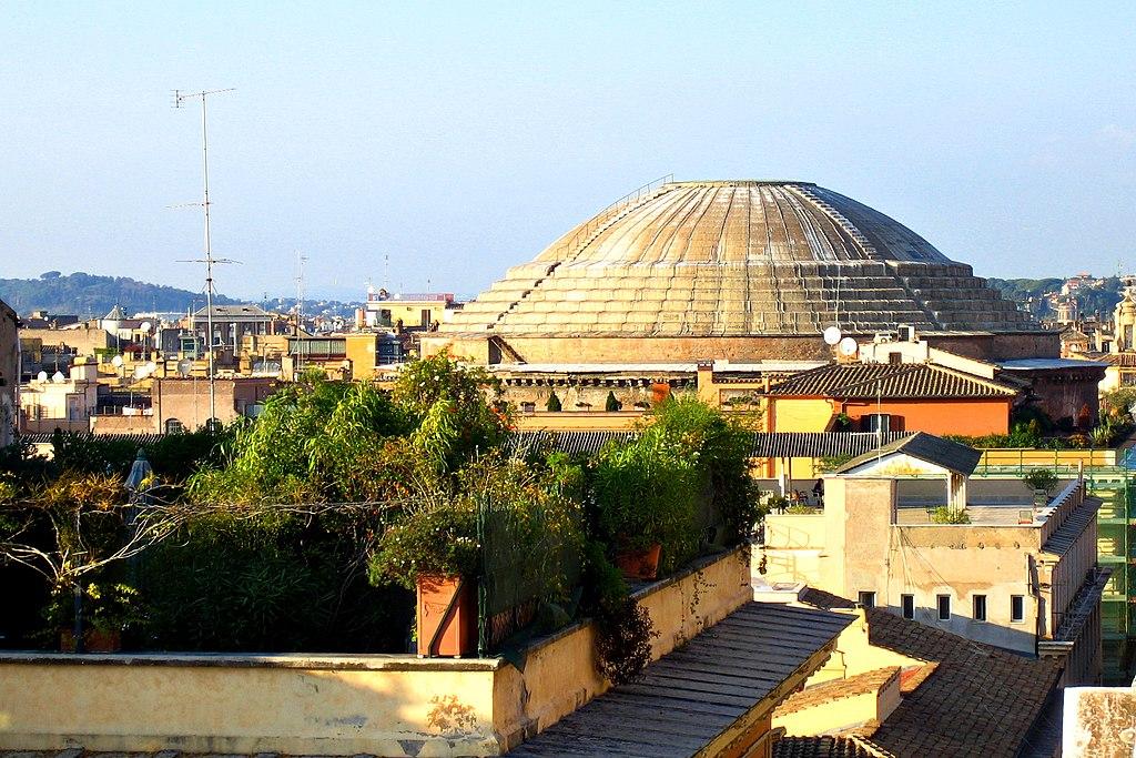La Cupola del Pantheon a Roma