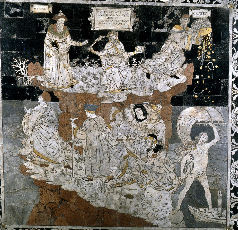 Pinturicchio, Allegoria del colle della Sapienza