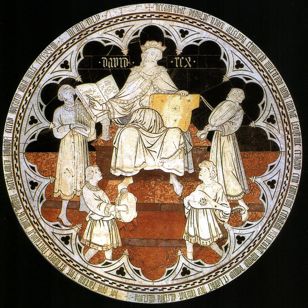 Domenico di Niccolò dei Cori, Davide salmista
