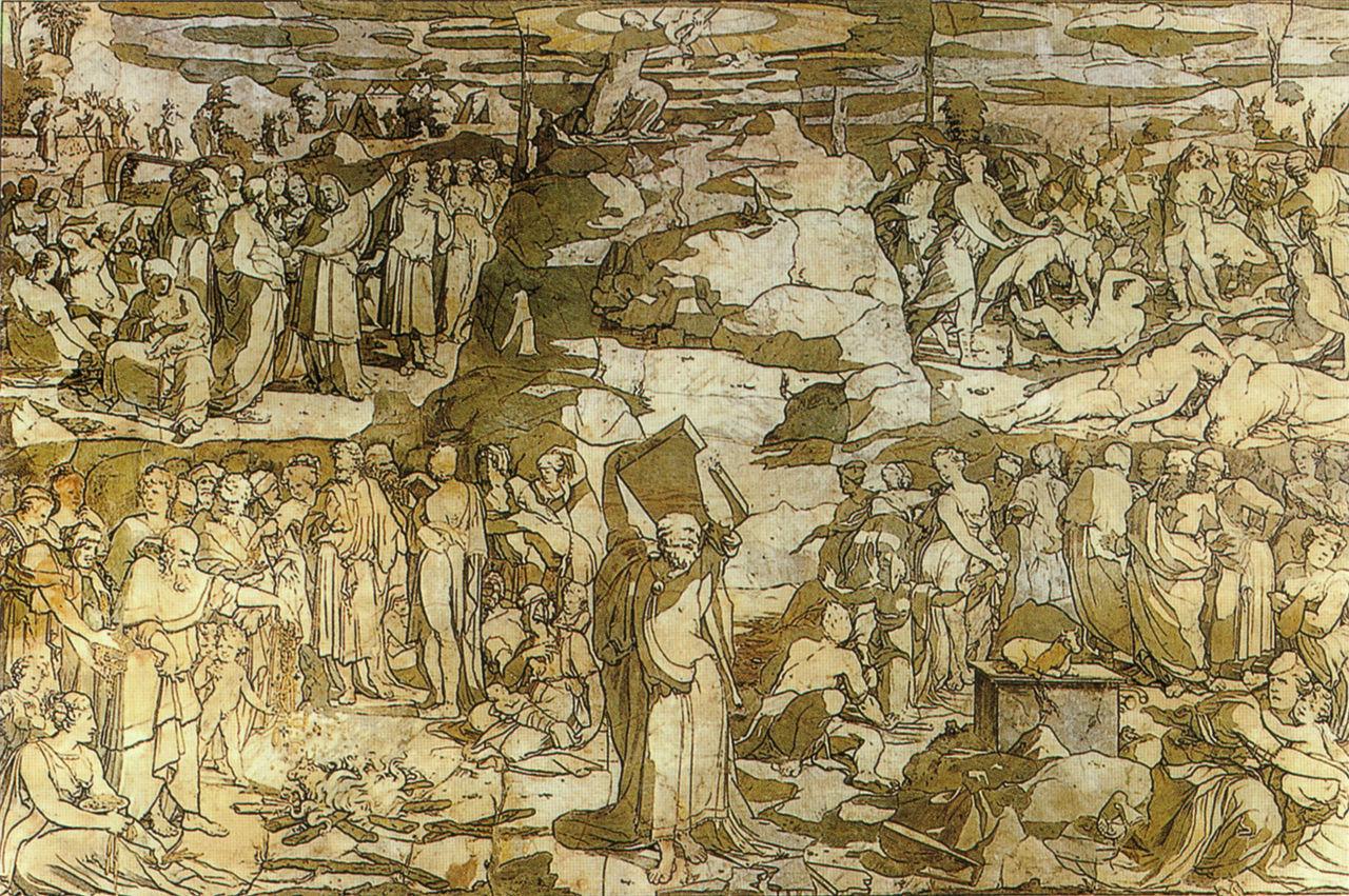 Domenico Beccafumi, Mosè sul Sinai