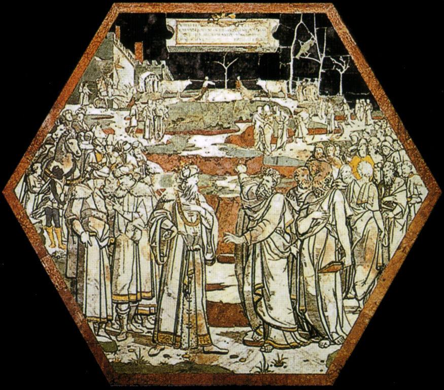 Domenico Beccafumi, Patto tra Elia e Acab