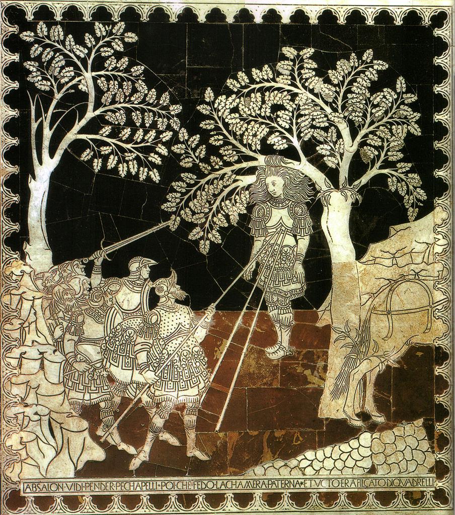 Pietro di Tommaso del Minella, Morte di Assalonne