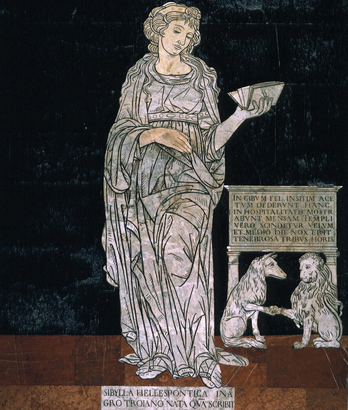 Neroccio di Bartolomeo Landi, Sibilla ellespontica. © Opera della Metropolitana di Siena