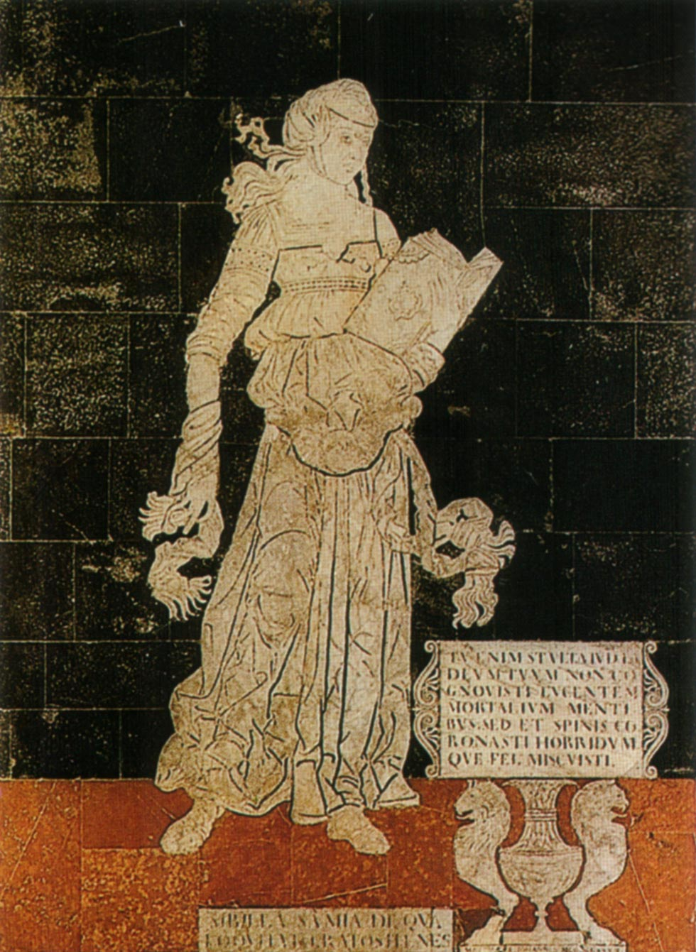 Matteo di Giovanni, Sibilla samia. © Opera della Metropolitana di Siena
