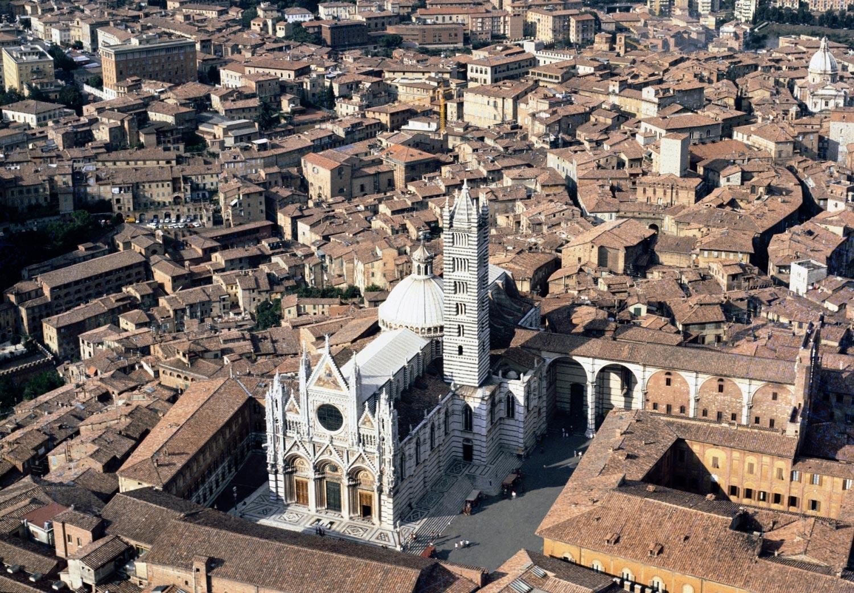 Veduta del Duomo di Siena