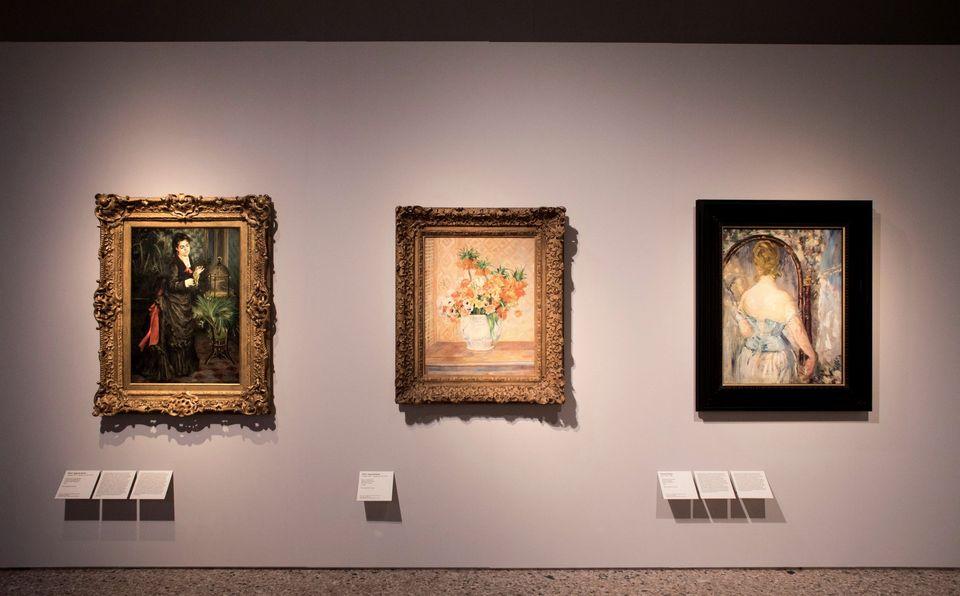 Sala della mostra Guggenheim. La Collezione Thannhauser a Milano, Palazzo Reale (17 ottobre 2019 - 1 marzo 2020). Ph. Skira