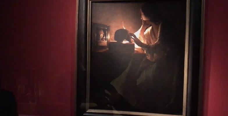 Sala della mostra La Tour. L'Europa della luce, a Milano, Palazzo Reale (fino al 27 settembre 2020). Ph. Skira