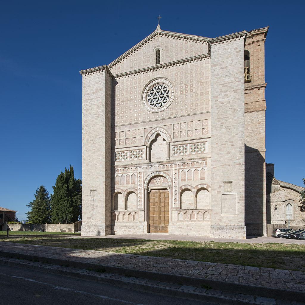 Perugia, chiesa di San Francesco al Prato. Ph. Credit Paolo Emilio