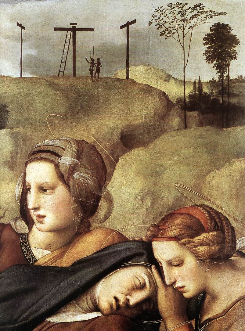 Dettaglio dello svenimento di Maria